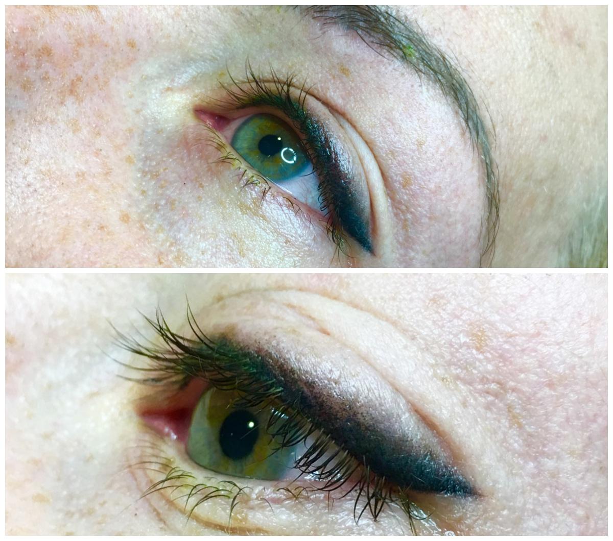 occhi eyeliner